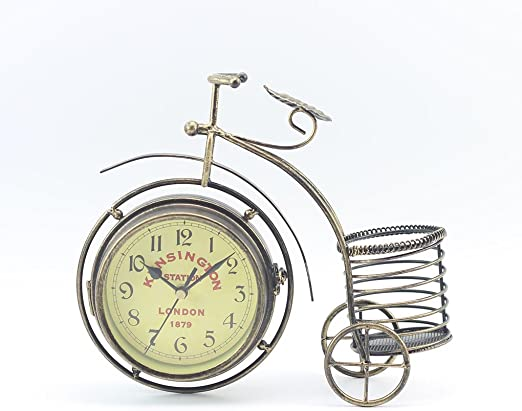 Bicicleta Vintage Retro Reloj bicicletas Hierro Silencio bilateral ...