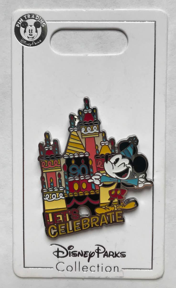 Disney Pin 132531 Mickey's 90th Celebration - Let's Celebrate Pin