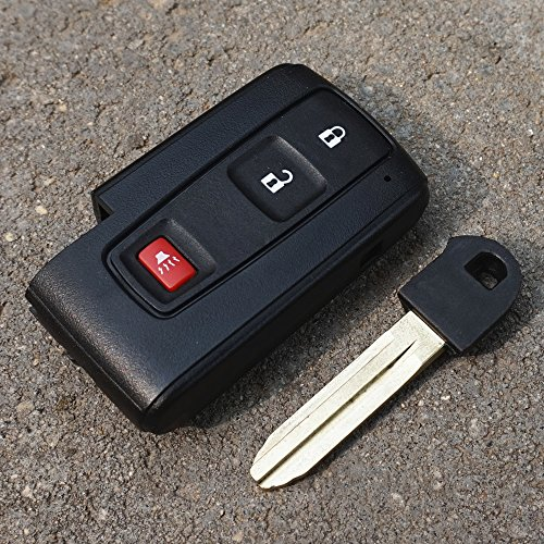 : Toyota Prius Key Fob Cover Case Shell Replacment with Blank Key 2004-2009