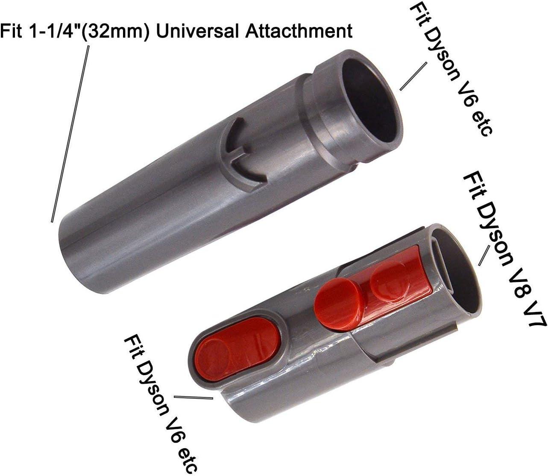 MEGICOT - Juego de cepillo universal para aspiradora + adaptador ...