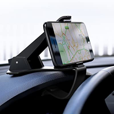 UGREEN Car Phone Mount Dashboard Cell Phone Holder Compatible for iPhone 11 Pro Max SE XS X XR 8 7 6 Plus 6S 5, Samsung Galaxy S10 Plus S9 S8 Note 9 8 S7 Edge S6, Google Pixel 3 XL, LG V40 V30 G7 G6