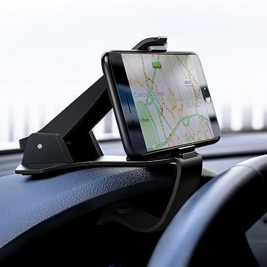 UGREEN Auto Handyhalterung Armaturenbrett Handy Autohalterung KFZ Handyhalter Auto Halterung Kratzschutz kompatibel mit iPhon