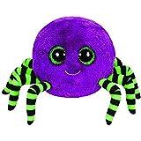 TY Beanie Boo Plush - Crawly the Spider (Purple)