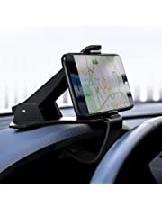 UGREEN Supporto Auto Smartphone Universale su Cruscotto Porta Cellulare per Dispositivi 4'' a 6.5'' Come GPS, MP3, iPhone X/ 8/8 Plus, Samsung Galaxy, Huawei P20/ P20 Lite/Mate 10, LG, Xiaomi etc.