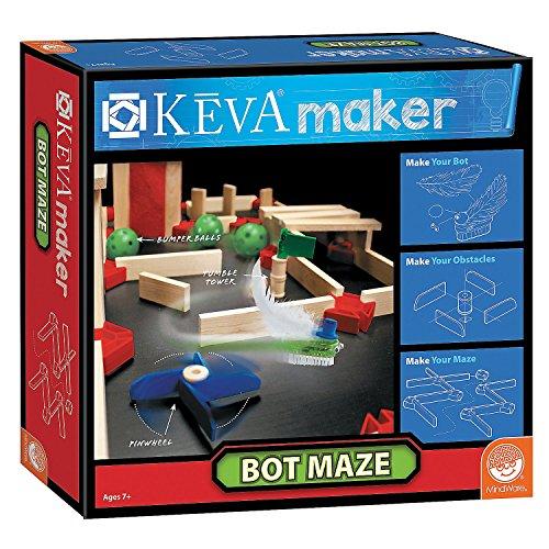 (KEVA Maker Bot Maze)