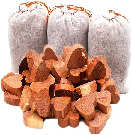 6 Blocs Antimites Bois Cèdre Protection Antimites Vêtements Prévention Armoires