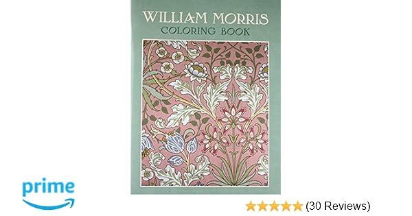 William Morris Coloring Book Brooklyn Museum Of Art 9780764950247 Amazon Books