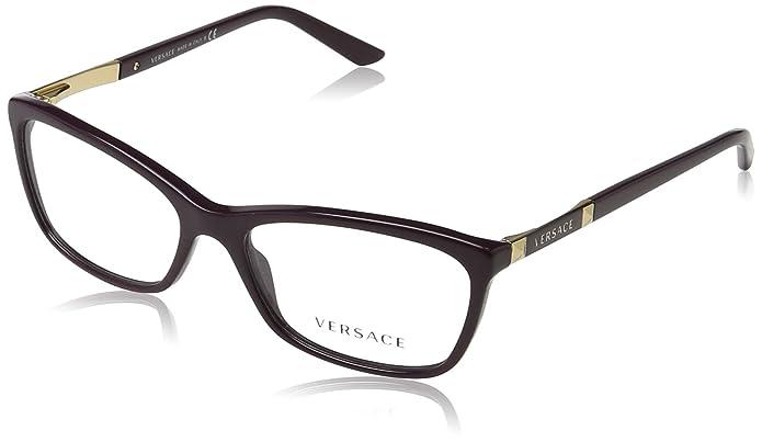 760102c7d43 Amazon.com  Versace Women s VE3186 Eyeglasses 52mm  Shoes