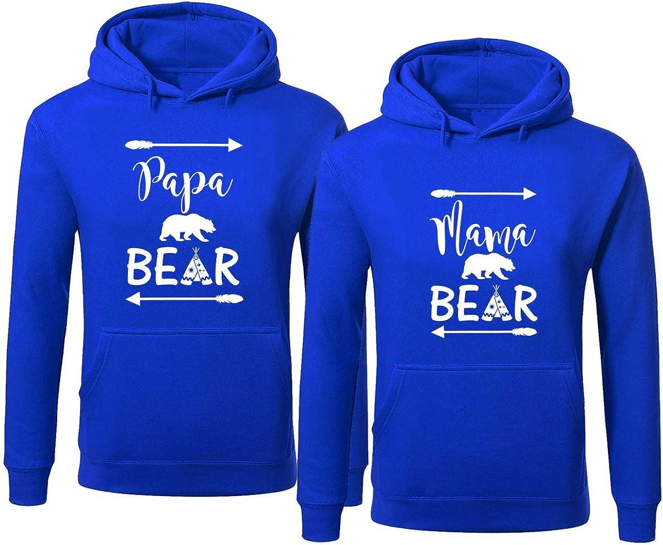 Bear Family Hoodie for Mama Bear Bear PAPA Bear Bear Pullover Sweater Pullover Hoodie