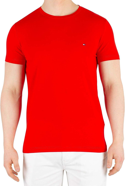 Tommy Hilfiger Stretch Slim Fit tee Camiseta Deporte para Hombre