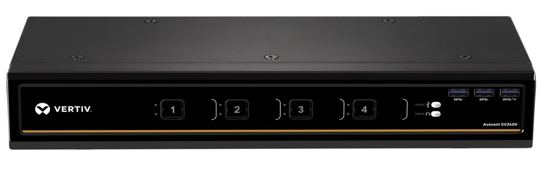 Avocent 4-Port Dual-Head HDMI 4K Ultra HD KVM Switch (SV340H)