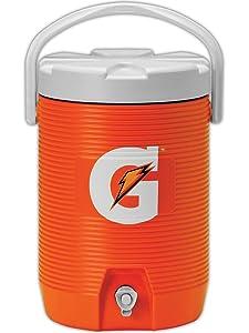 Gatorade 49200-09 Insulating Cooler, 3 Gallon Capacity, Standard, Orange