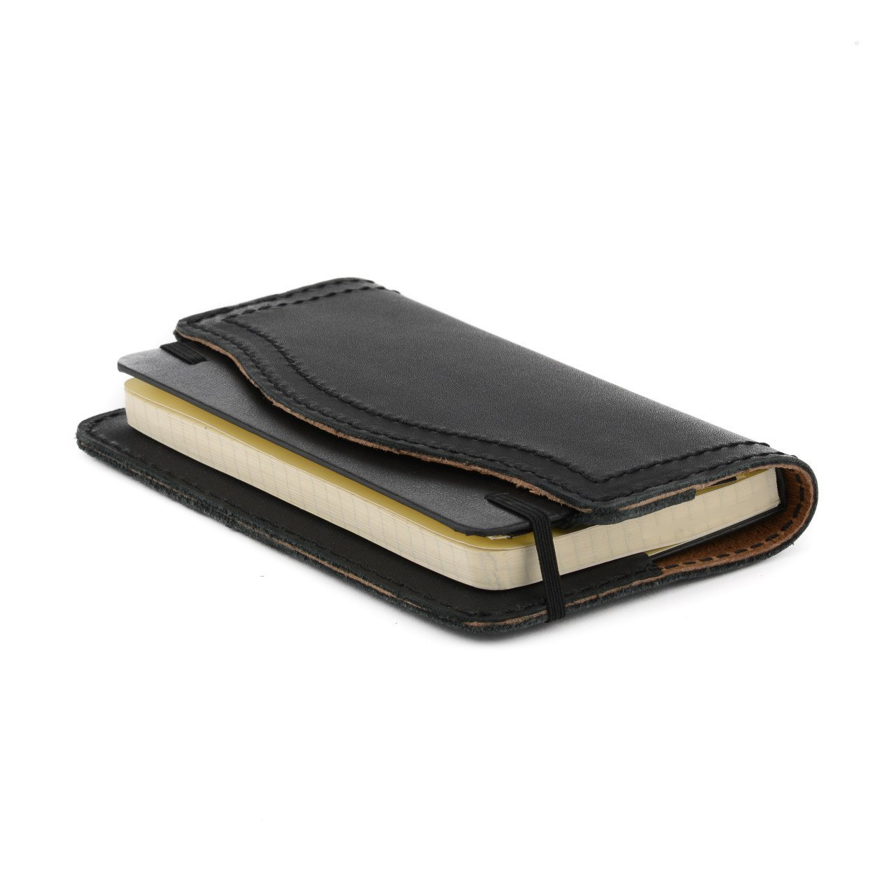 Saddleback Leather Co. Moleskine Notebook Cahier Leather Journal Cover for Sketchbooks and Notebooks Includes 100 Year Warranty
