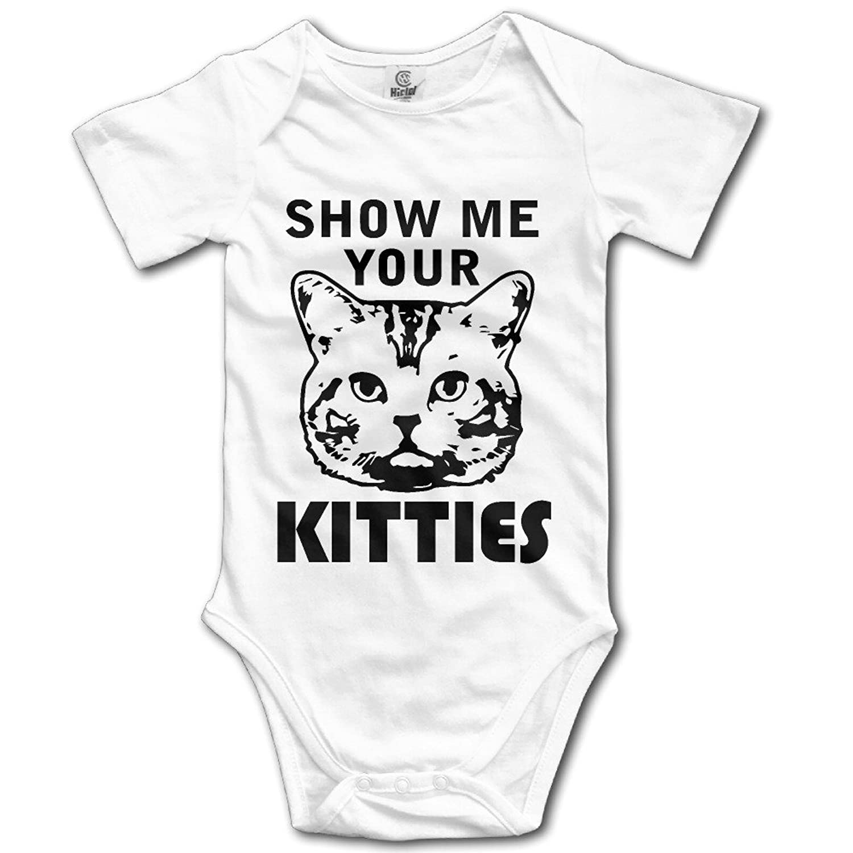 Amazon Show Me Your Kitties Cat Baby esies Clothing
