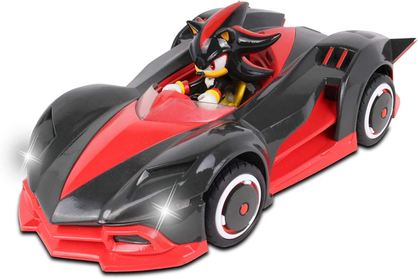 Amazon Com Nkok Team Sonic Racing 2 4ghz Remote Controlled Car With Turbo Boost Shadow The Hedgehog Toys Games