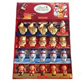 Lindt Chocolate Holiday Chocolate Figures Novelty Pack, 7.1 Ounce