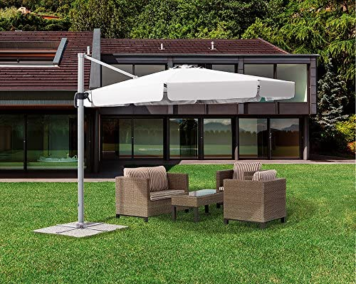 Sombrilla excéntrico cm. 300 x 400 (aluminio Francisco: Amazon.es ...