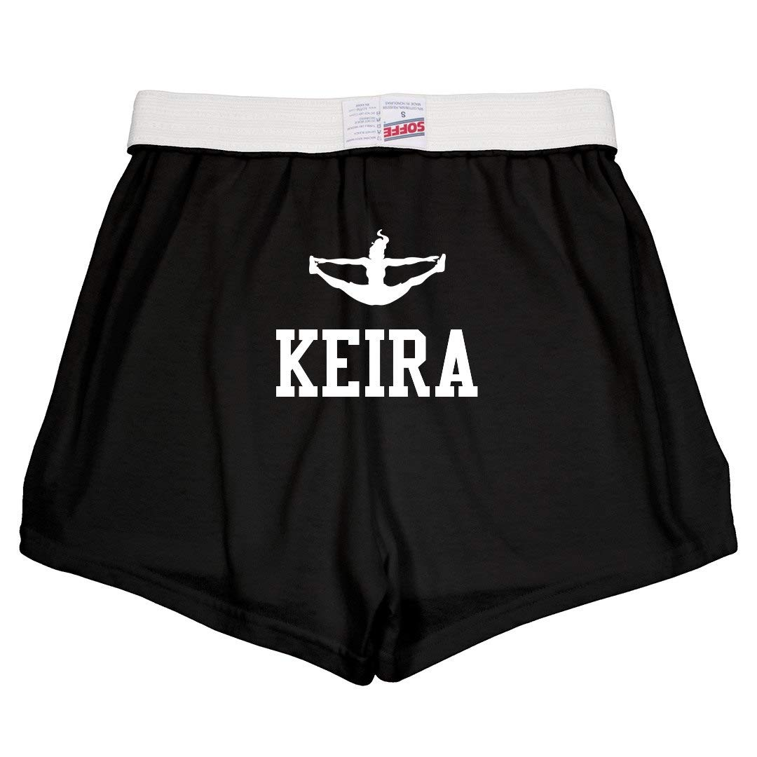 Keira Cute Cheer Practice Youth Soffe Shorts