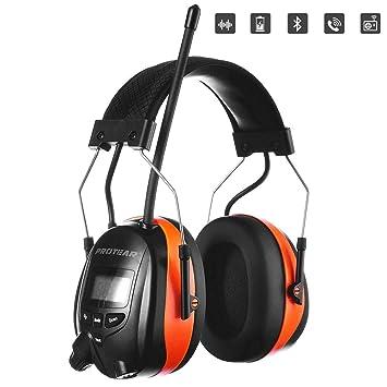 PROTEAR - Auriculares de Seguridad Recargables con reducción de ...