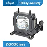 Replacement Lamp Assembly with Genuine Original OEM Bulb Inside for HITACHI CP-X960A Projector Power by Ushio