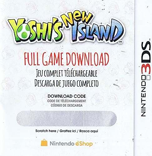 Yoshi's New Island Full Game Download Code - Nintendo 3DS eShop -