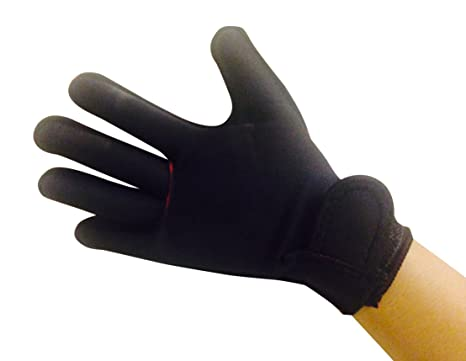 BACK ON TRACK Gloves Arthritic Hands Heat Therapy Relieves Aches Pains Medium