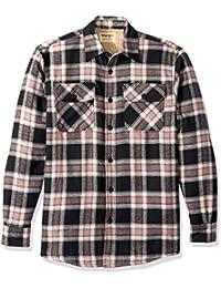 Authentics Men's Long Sleeve Sherpa Lined Shirt Jacket