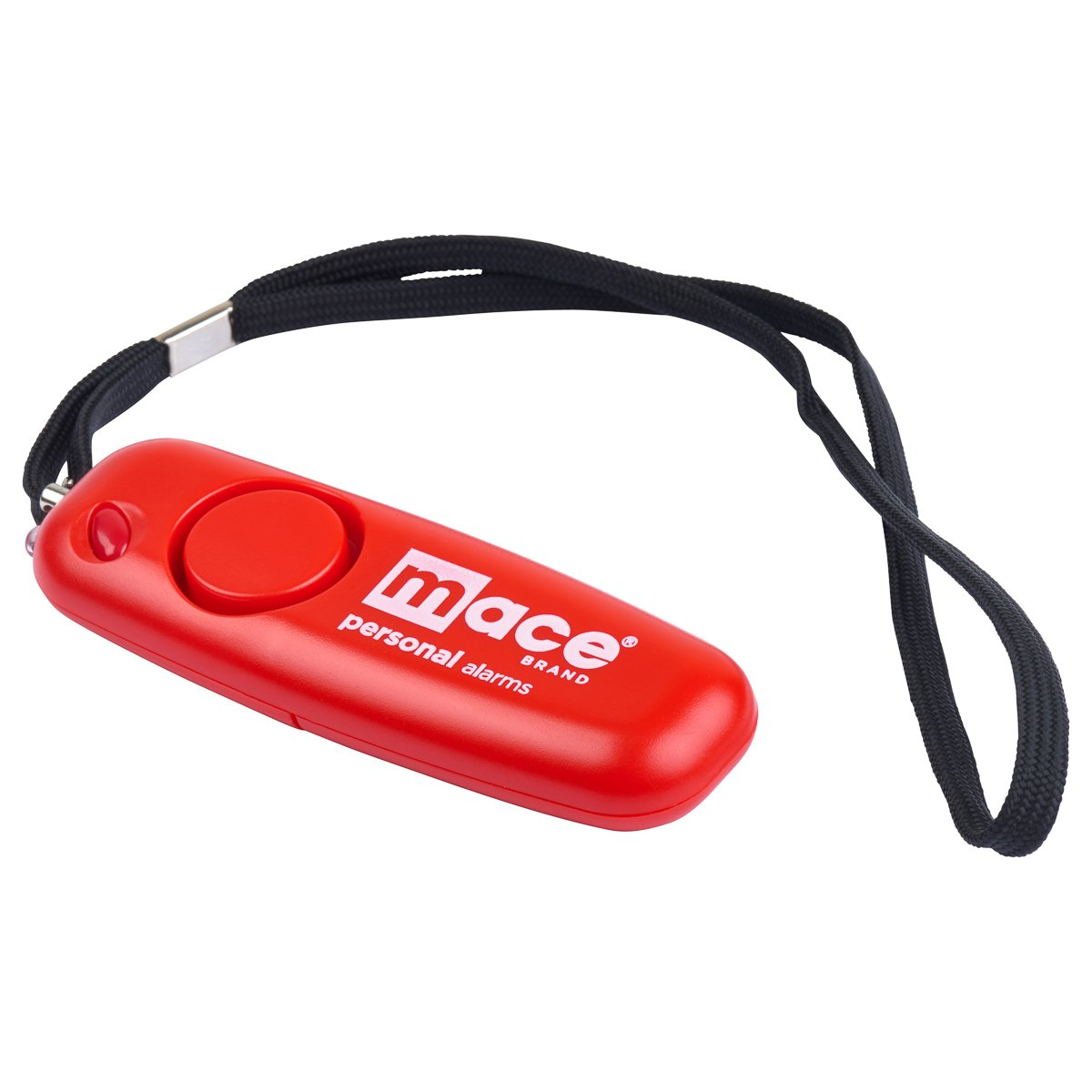 Mace Brand 130dB Alarm with LED Flashlight, Rip Cord Grenade Pin Activation and Included AAA Batteries Wristlet Model