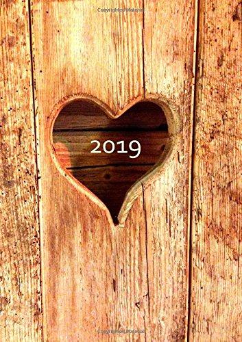 dicker-tagebuch-kalender-2019-din-a4-herz-aus-holz-endlich-genug-platz-fr-dein-leben-1-tag-1-a4-seite