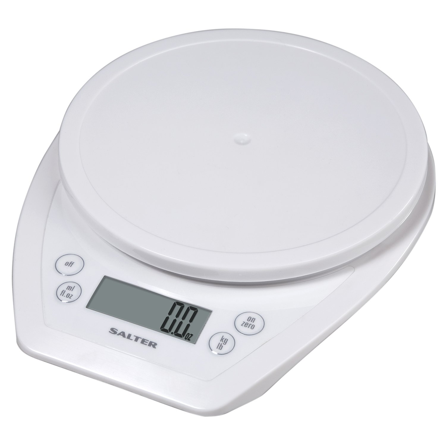 Amazon.com: Salter Aquatronic Digital Kitchen Scale (White): Digital  Kitchen Scales: Kitchen U0026 Dining