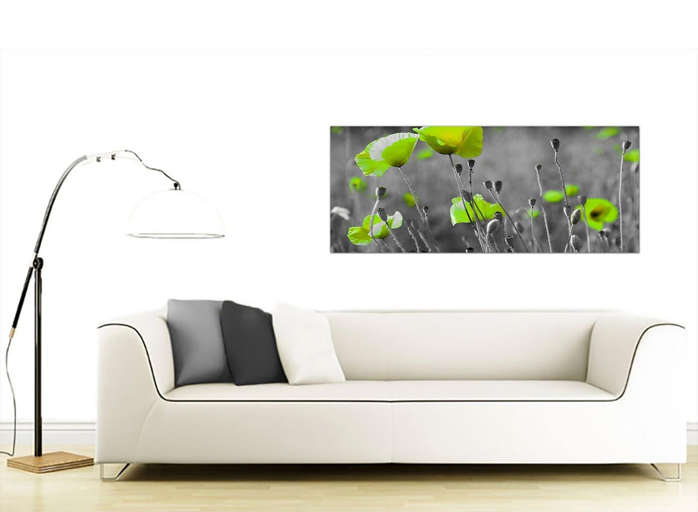 1138 Bon Marché Noir et blanc sur toile murale Art du Vert ...