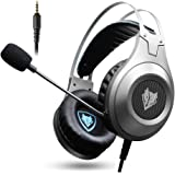 NUBWO Xbox One PS4 Gaming Headset-Over-ear Bass Stereo Gaming Headphones PC Gaming Headset with Microphone for Xbox One PS4 PlayStation 4 PC Computer Smart Phone 3.5 mm Plug