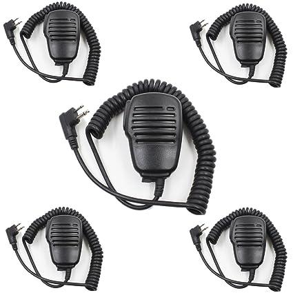 Ear-piece Speaker PTT Mic Motorola Mag One BPR40 SP10 SP50 EP450 GP88 GTX PR400