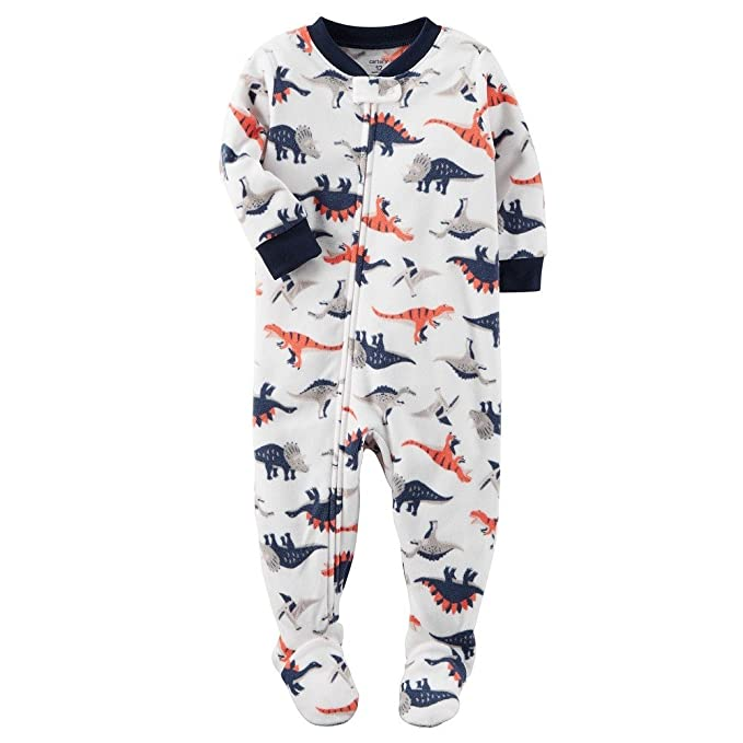 df6a6c100eee Amazon.com  Carter s Baby Boys  Long-Sleeve Footed Sleeper  Clothing
