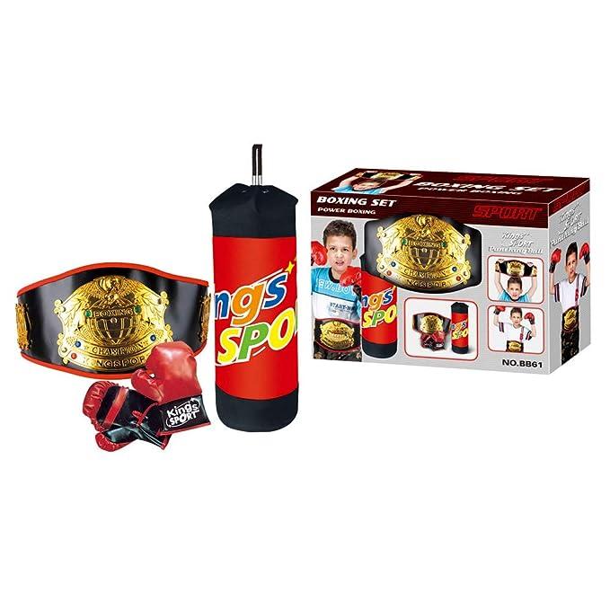 KINGS SPORT Juego DE Boxeo para NIÑOS: Amazon.es: Juguetes y juegos