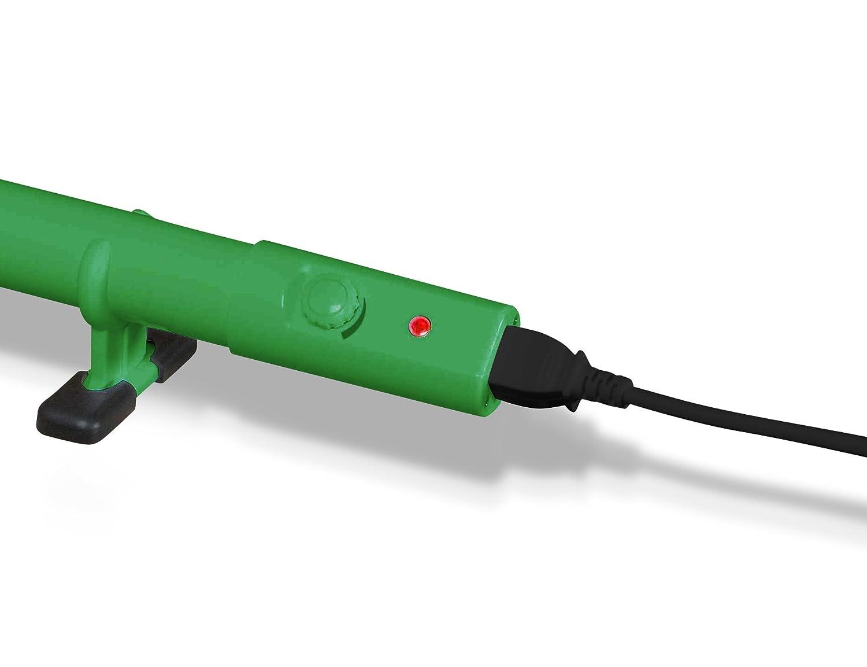 CALENTADOR ECOLÓGICO SLIMLINE PARA INVERNADERO CON TERMOSTATO INCORPORADO 1000mm (120W) HHT310E: Amazon.es: Electrónica