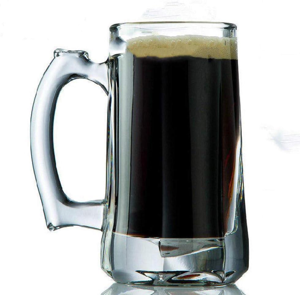Jarras De Cerveza Vasos De Cerveza Cerveza, Vino De Cristal, Cerveza, Cerveza, Bebida Grande, Leche Fría,Jarra De Cerveza Individual 350Ml