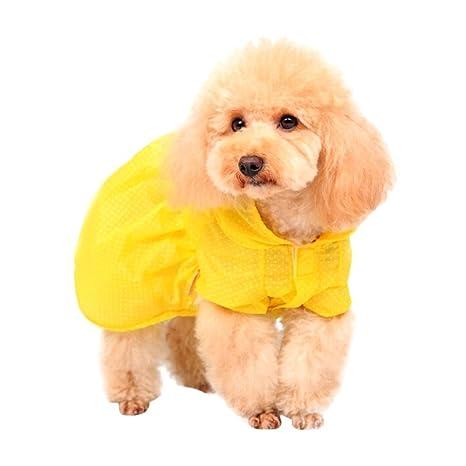 HongGXD Color Brillante Cachorro Gato Perro Ropa Suave Mascotas Protector Solar Aire Acondicionado Ropa Mascota Punto