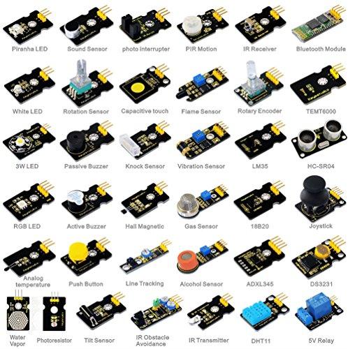 Keyestudio 37-in-1 Sensor Module Kit for Arduino Starter