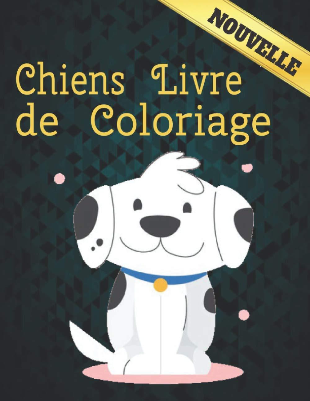 Chiens Livre de Coloriage 40 conception de chien unilatérale pour ...