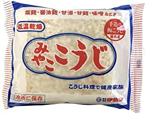 MIYAKO KOJI 200g. It is a traditional Japanese food that is good for health. With Original recipe collection.