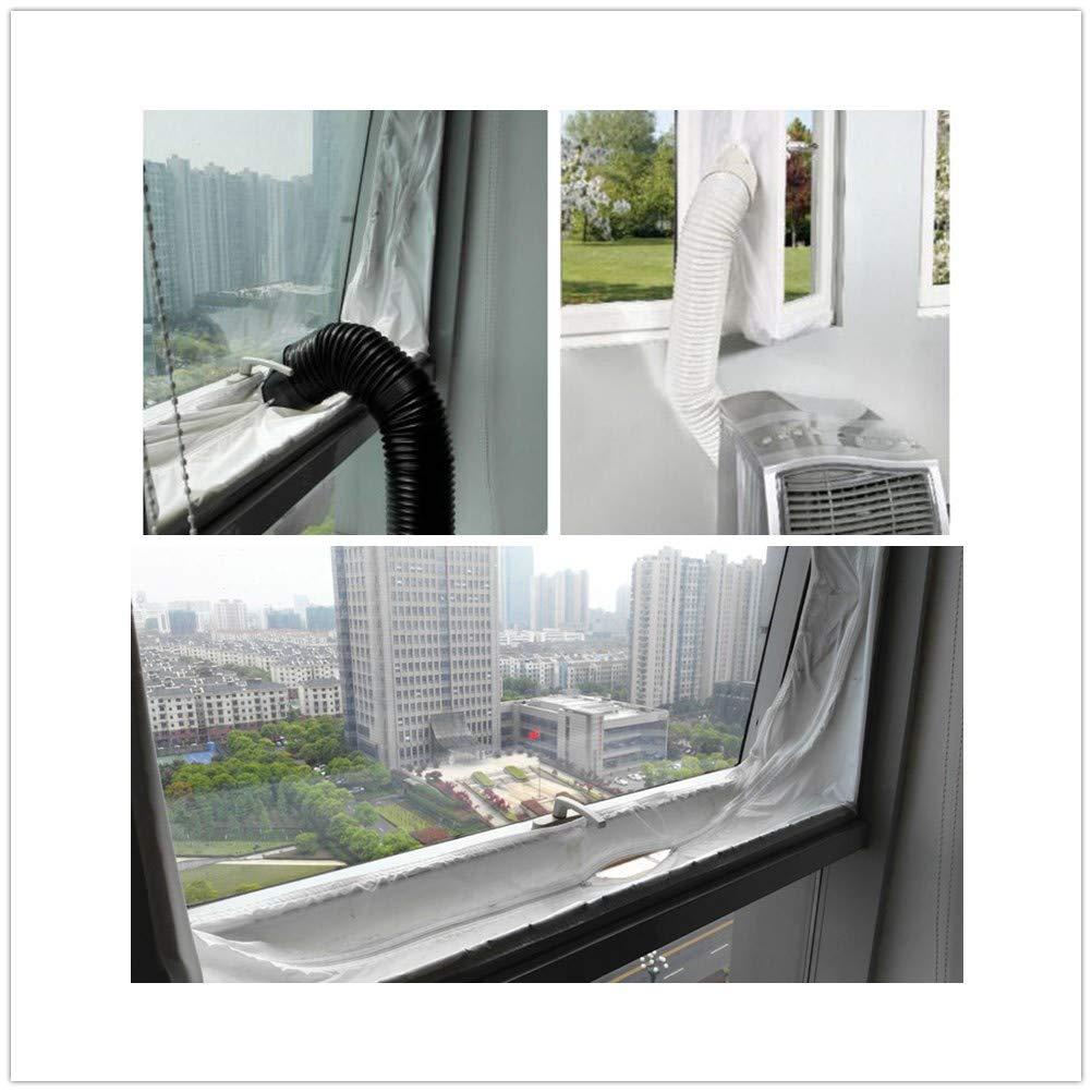 INKDSAT 86 x 32 x 56 cm Winter Anti-Snow Waterproof Dustproof Outdoor Window AC Unit Mini Split System Air Conditioner Cover