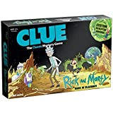 Clue: Rick and Morty Back in Blackout Board Game