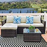 Patio Sofa Outdoor Sectional Furniture Set