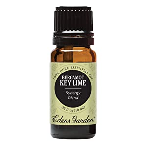 Edens Garden Bergamot Key Lime Essential Oil Synergy Blend, 100% Pure Therapeutic Grade (Highest Quality Aromatherapy Oils- Detox & Energy), 10 ml