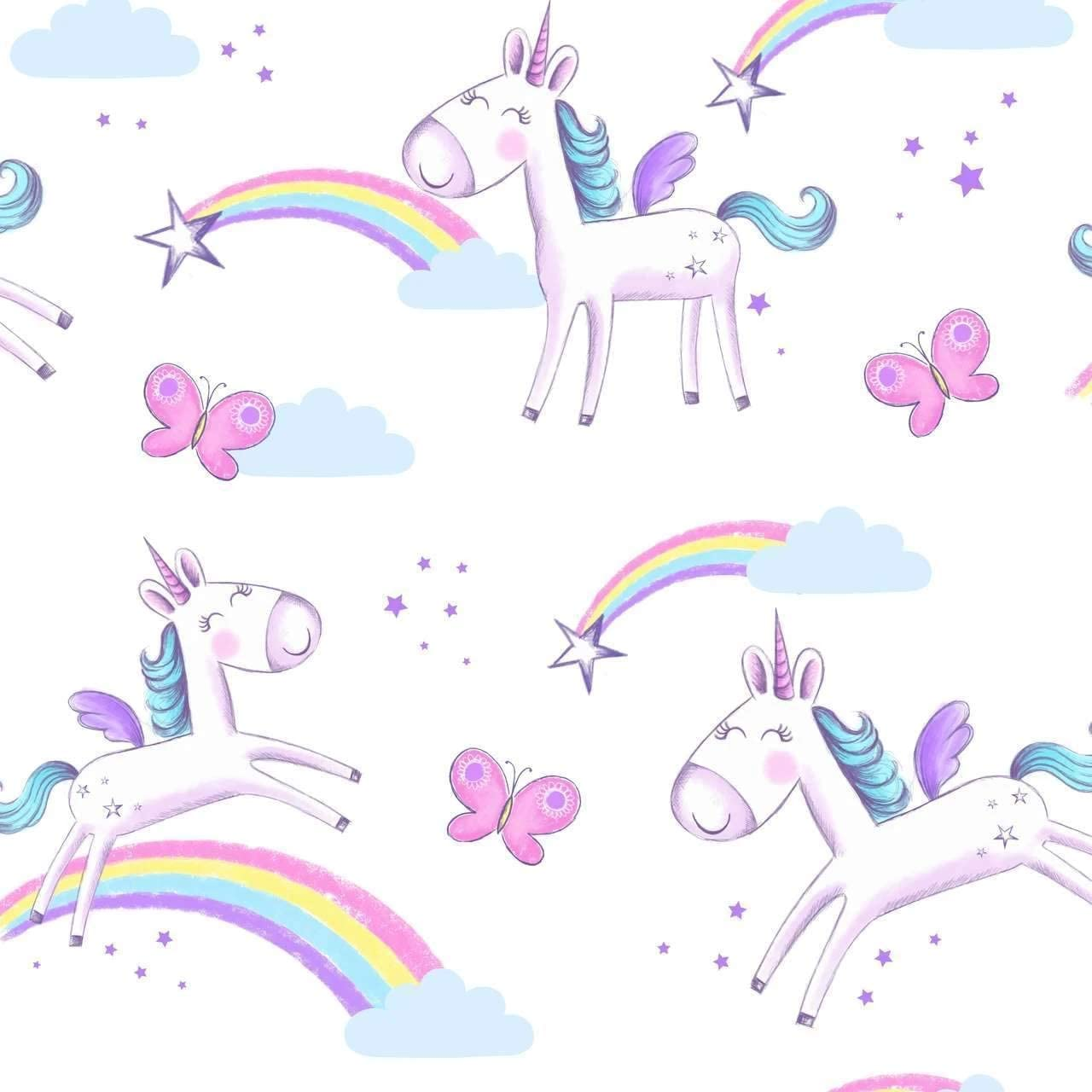 Papel pintado Fine Decor FD41922 dise/ño de unicornio