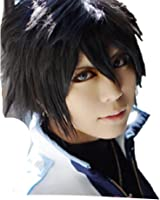 Fairy Tail Gray Fullbuster cosplay costume wig