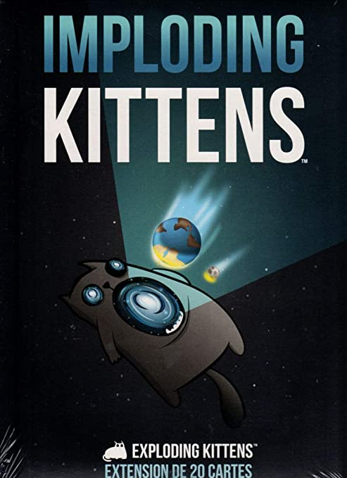 Exploding Kittens Imploding Kittens Extension Francais Card Games Amazon Canada