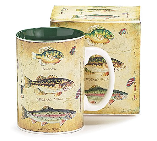- Species of Fish Fisherman's Porcelain Coffee Mug