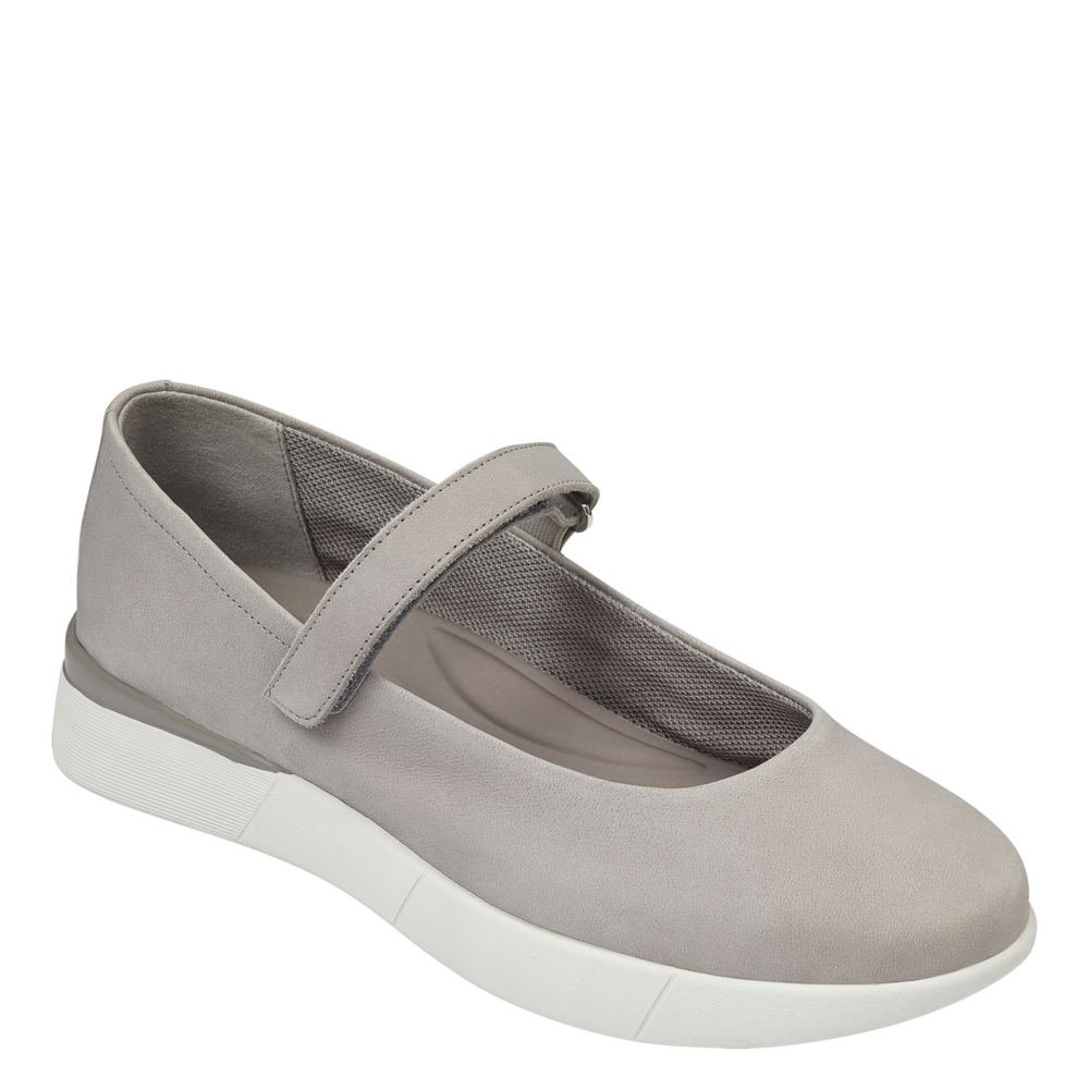 Easy Spirit Women's Cacia Mary Jane Flat B07B2B4ZJS 6 C/D US|Grey